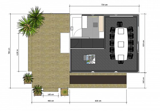 Best plan algeco avec terrasse et rampe pmr with maison algeco - Maison algeco prix ...